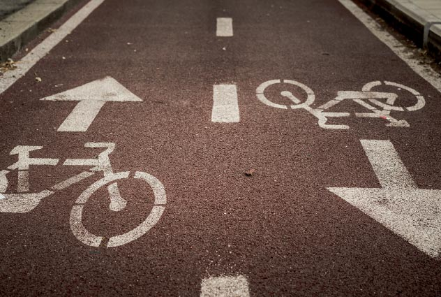 bicycle lane | Luis Guerra Personal Injury Trial Attorneys | Phoenix, Arizona